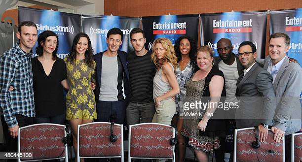 Radio personalities Dalton Ross and Jessica Shaw and actors Kristen Gutoskie George Young Chris Wood Christina Marie Moses and Claudia Black...