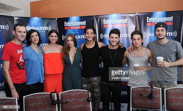 Radio personalities Dalton Ross and Jessica Shaw and actors Shelley Hennig, Holland Roden, Tyler Posey, Cody Saintgnue, Dylan O'Brien and Dylan...