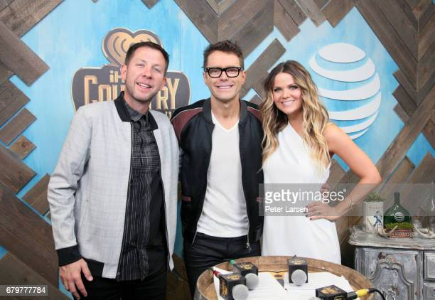Radio personalities Lunchbox Bobby Bones and Amy Brown attend the 2017 iHeartCountry Festival A Music Experience by ATT at The Frank Erwin Center on...