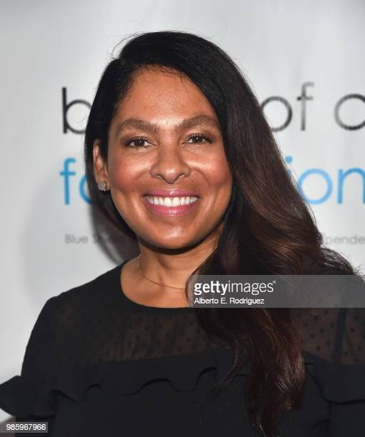 Radio Personality Adai Lamar attends the 2018 Imagine Cocktail Party To Benefit Jenesse Center at Wilshire Country Club on June 27 2018 in Los...