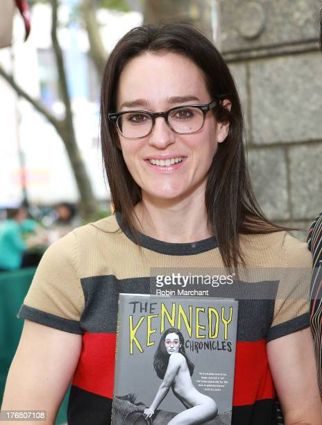 Radio personality and former MTV VJ Lisa Kennedy attends Word for Word Author 2013 at The Bryant Park Reading Room on August 14 2013 in New York City