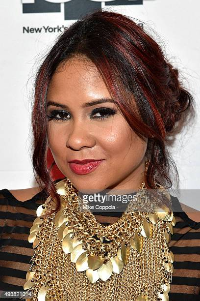 Radio personality Angela Yee of the Breakfast Club attends Power 1051's Powerhouse 2015 at the Barclays Center on October 22 2015 in Brooklyn NY