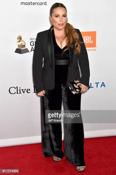 Radio personality Angie Martinez attends the Clive Davis and Recording Academy PreGRAMMY Gala and GRAMMY Salute to Industry Icons Honoring JayZ on...