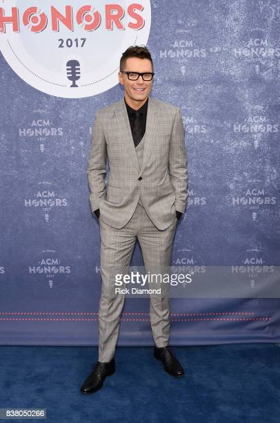 Radio personality Bobby Bones attends the 11th Annual ACM Honors at the Ryman Auditorium on August 23 2017 in Nashville Tennessee