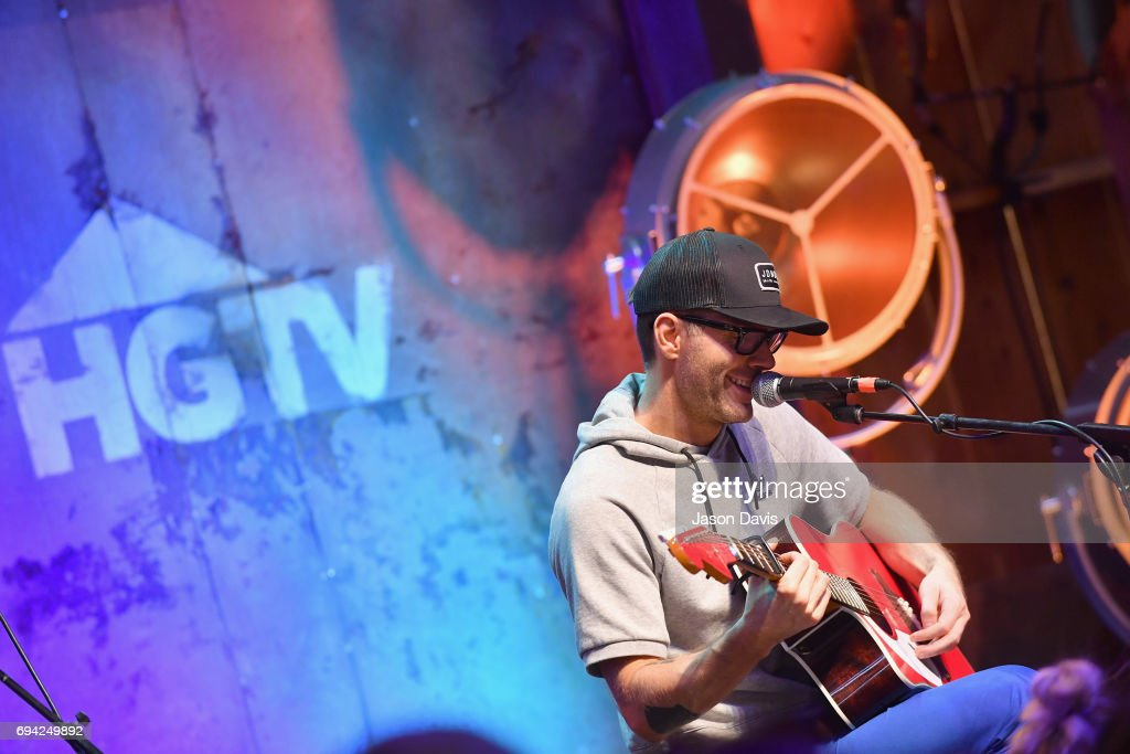 Radio personality Bobby Bones performs onstage at the HGTV Lodge during CMA Music Fest on June 9, 2017 in Nashville, Tennessee.