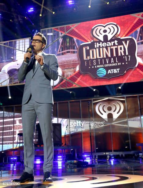Radio personality Bobby Bones speaks onstage during the 2017 iHeartCountry Festival A Music Experience by ATT at The Frank Erwin Center on May 6 2017...