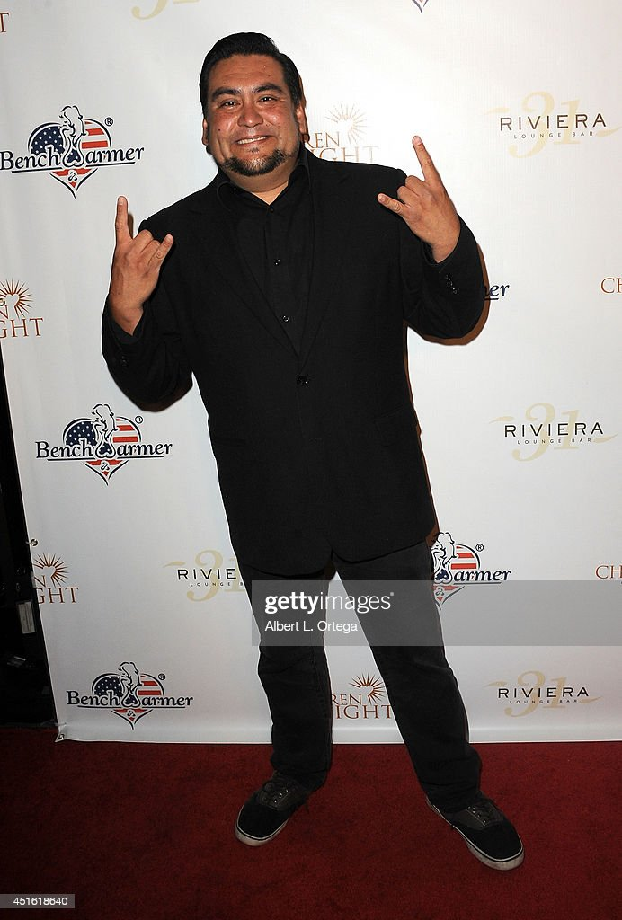 Radio personality Brian Olea arrives for BenchWarmer's Annual Stars & Stripes Celebration held at Riviera 31 on July 1, 2014 in Beverly Hills, California.