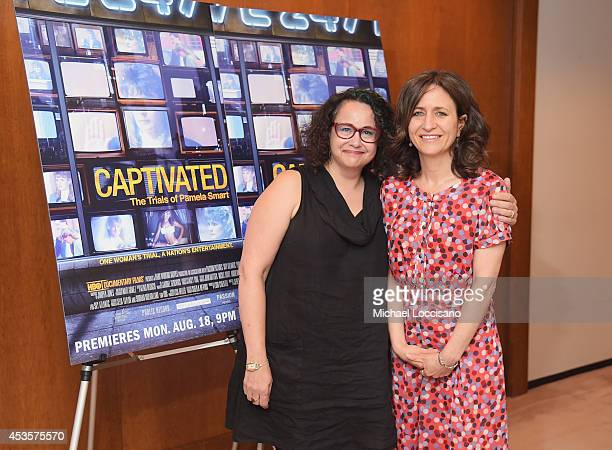 Radio personality Brooke Gladstone and SVP of HBO Documentary Films Lisa Heller attend a special screening of the HBO Documentary Film Captivated The...