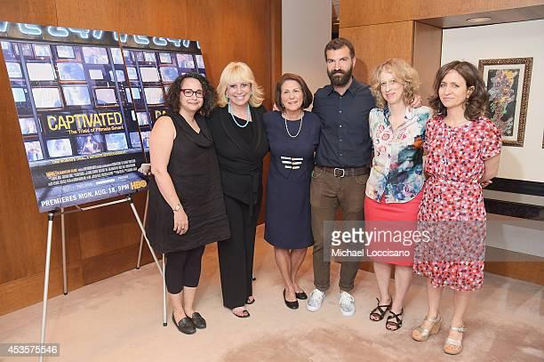 Radio personality Brooke Gladstone Linda Kenney Baden ESQ Linda Wojas filmmakers Jeremiah Zagar and Lori Cheatle and SVP of HBO Documentary Films...