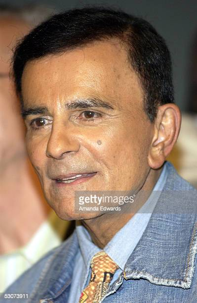 Radio personality, Casey Kasem, attends the Golden Dads Awards ceremony at the Peterson Automotive Museum on June 15, 2005 in Los Angeles, California.