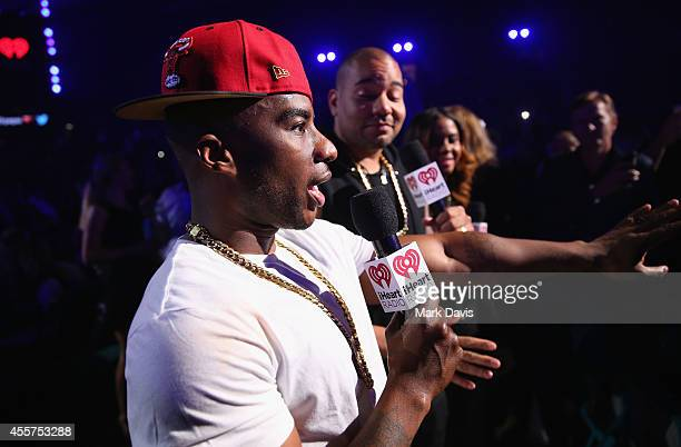 Radio personality Charlamagne Tha God attends the 2014 iHeartRadio Music Festival at the MGM Grand Garden Arena on September 19 2014 in Las Vegas...