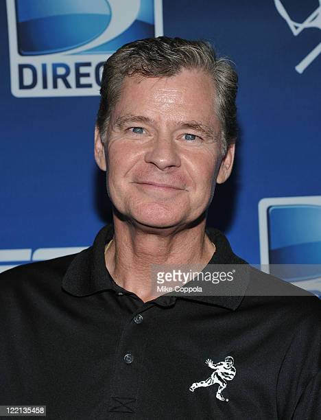 Radio personality Dan Patrick attends the DIRECTV Old School Challenge Presented by ESPN at the 69th Regiment Armory on August 25 2011 in New York...