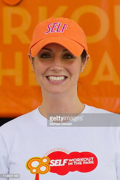 Radio personality Danielle Monaro attends SELF Magazine's Workout In The Park at Rumsey Playfield Central Park on May 7 2011 in New York City