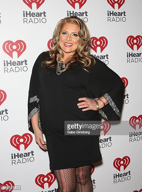 Radio personality Delilah arrives at iHeart Radio's Ultimate Valentines Day Escape at Brooklyn Bowl Las Vegas at The LINQ Promenade on February 21...
