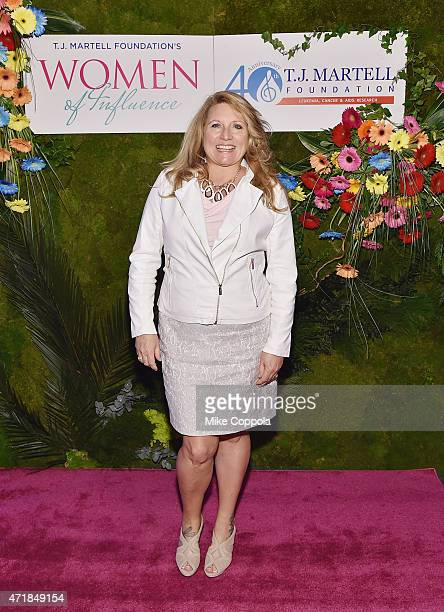 Radio personality Delilah attends the TJ Martell Foundation's Women of Influence Awards on May 1 2015 in New York City