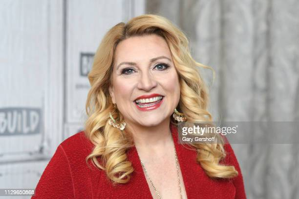 Radio personality Delilah visits the Build Series to discuss 'One Heart at a Time' at Build Studio on February 14 2019 in New York City