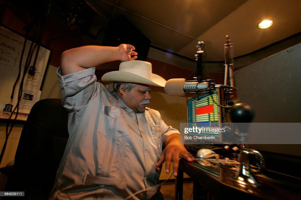 Radio Personality Don Cheto Does His Popular Spanish Language