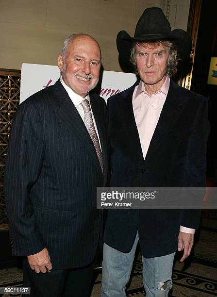 Radio Personality Don Imus and Co CEO of New Line Cinema Michael Lynne attend The Brooklyn College Foundation dinner and award gala on October 25...