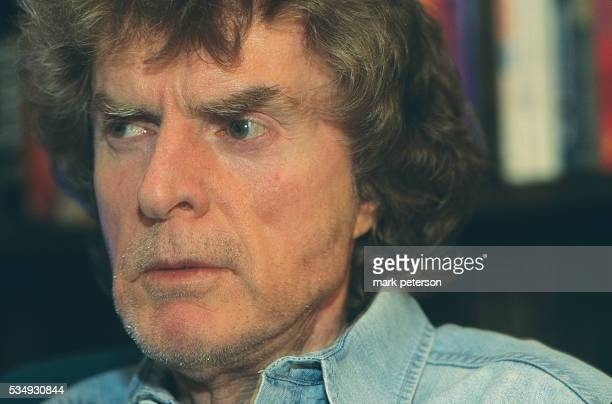 Radio personality Don Imus at WFAN studio