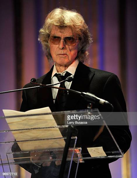 *EXCLUSIVE* Radio personality Don Imus speaks at the 2010 AFTRA AMEE Awards at The Grand Ballroom at The Plaza Hotel on February 22 2010 in New York...