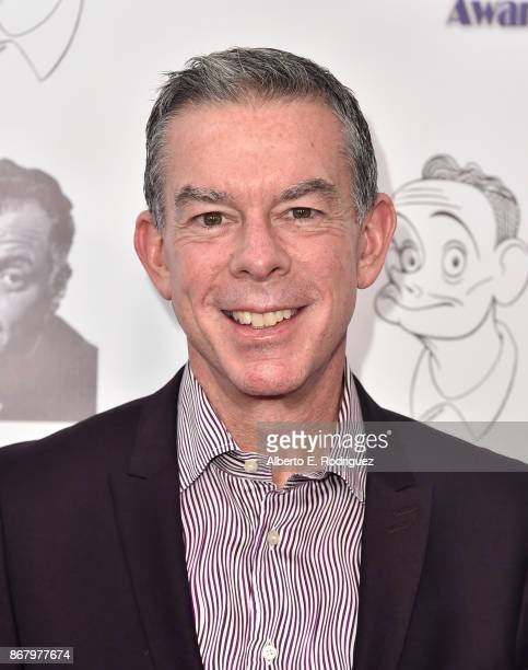 Radio personality Elvis Duran attends the 3rd Annual Carney Awards at The Broad Stage on October 29 2017 in Santa Monica California