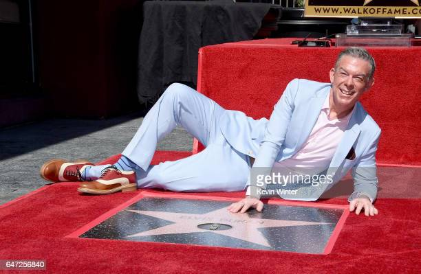 Radio personality Elvis Duran receives a star on the Hollywood Walk of Fame on March 2 2017 in Los Angeles California