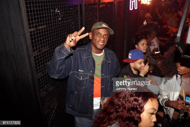 Radio personality Fred Bugsy Buggs attends the Atlantic Records Access Granted Showcase on June 13 2018 in New York City