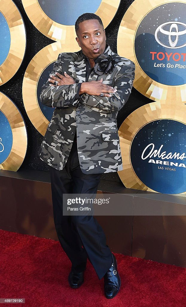 Radio personality Gary 'With da tea' Hayes attends the 2014 Soul Train Music Awards at the Orleans Arena on November 7, 2014 in Las Vegas, Nevada.