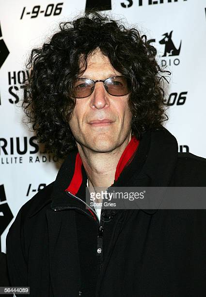 Radio personality Howard Stern arrives at a luncheon to celebrate the launch of his new Sirius Satellite Radio show at the Hard Rock Cafe December 16...