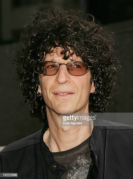 Radio personality Howard Stern attends the premiere of Crazy Love at the Beekman Theater May 22 2007 in New York City