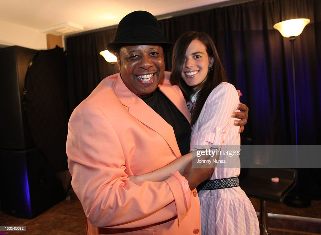 Radio personality Jeff Foxx and singer Jill Criscuolo visits 'The Jeff Foxx Radio Show' on August 20, 2012 in West Orange, New Jersey.