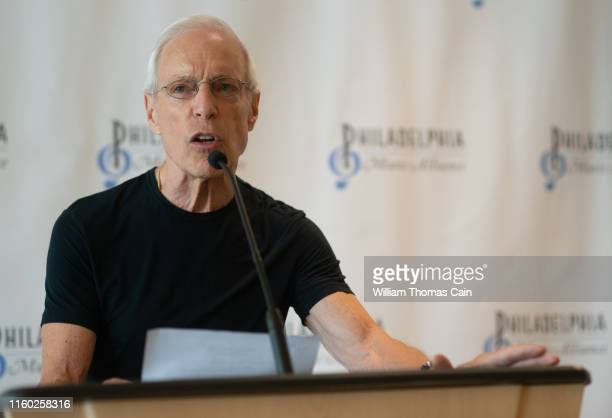 Radio personality Jerry Blavat makes remarks during the announcement of the 2019 Philadelphia Music Alliance Walk of Fame nominees at Independence...