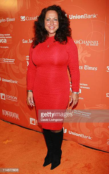 Radio personality Josefa Salinas attends the YWCA Greater Los Angeles' 2011 Phenomenal Woman Awards Luncheon at the Omni Los Angeles Hotel on May 18...