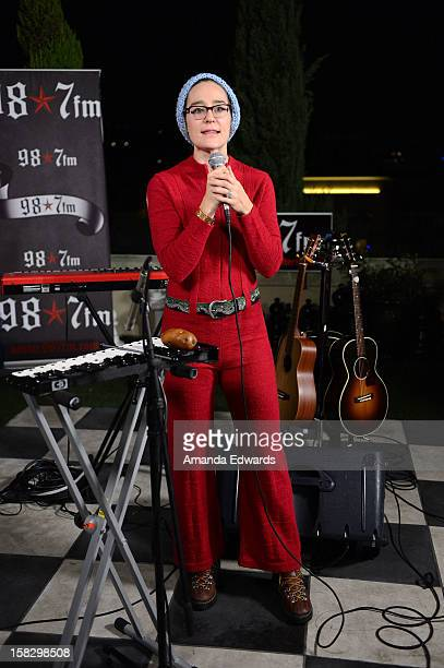 Radio personality Kennedy attends the 987FM Penthouse Party Tegan Sara concert at The Historic Hollywood Tower on December 12 2012 in Hollywood...