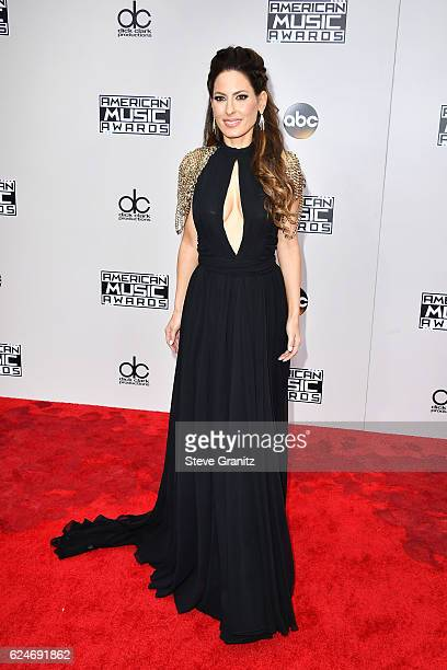 Radio personality Kerri Kasem attends the 2016 American Music Awards at Microsoft Theater on November 20, 2016 in Los Angeles, California.