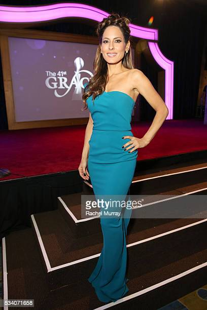 Radio personality Kerri Kasem attends the 41st Annual Gracie Awards at Regent Beverly Wilshire Hotel on May 24 2016 in Beverly Hills California