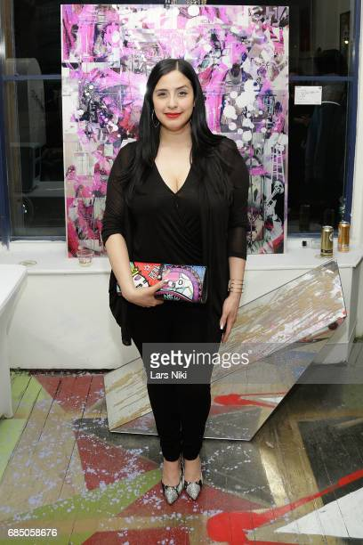 Radio Personality Laura Stylez attends the GOOD LUCK AMERICA Secret Charity Event to Benefit Art Start at Good Luck Brooklyn Gallery on May 18 2017...
