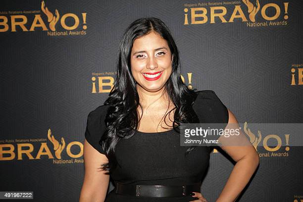 Radio personality Laura Stylez hosts the 2015 Bravo National Awards at The New York Palace Hotel on October 8 in New York City