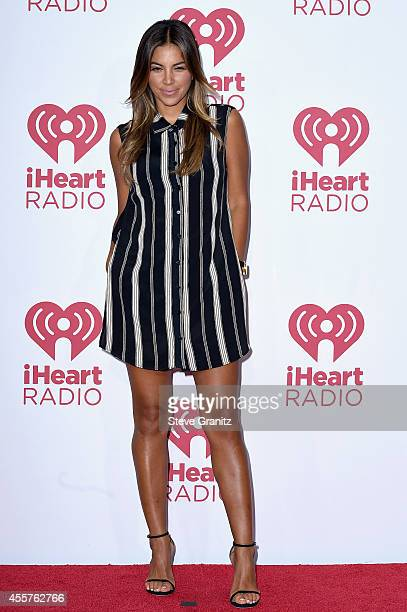 Radio personality Liz Hernandez attends night 1 of the 2014 iHeartRadio Music Festival at MGM Grand Garden Arena on September 19, 2014 in Las Vegas,...