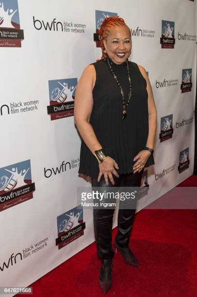 Radio personality Myra J attends the 2017 Black Women Film Summit Untold Stories awards luncheon at Atlanta Marriott Marquis on March 3 2017 in...