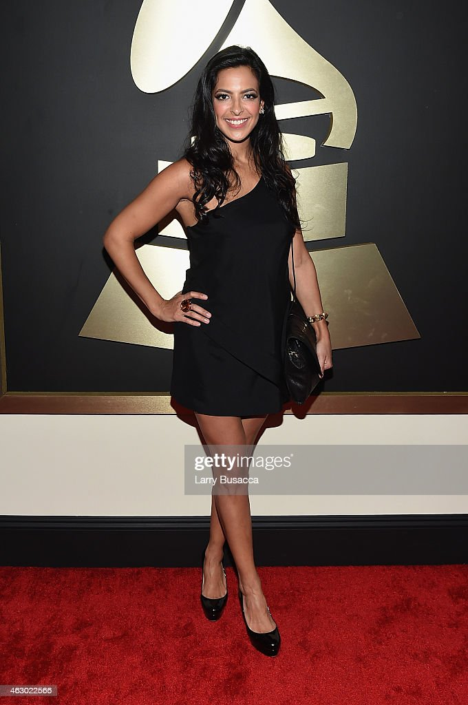 Radio personality Nicole Ryan attends The 57th Annual GRAMMY Awards at the STAPLES Center on February 8, 2015 in Los Angeles, California.