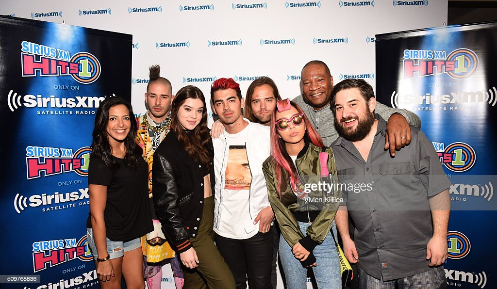 SiriusXM Hits 1's The Morning Mash Up Broadcast From The SiriusXM Studios In Los Angeles : News Photo