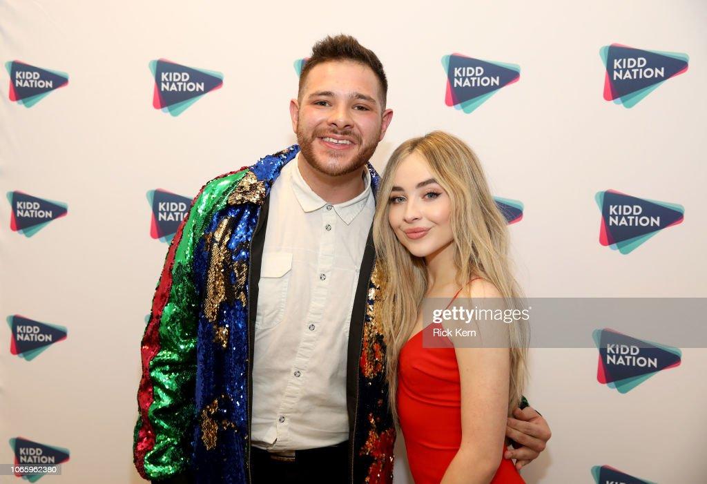 Radio personality Part-Time Justin and Sabrina Carpenter