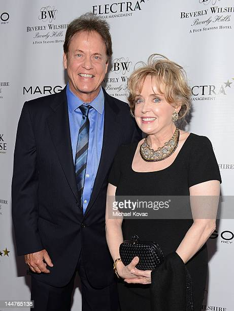 Radio personality Rick Dees and wife Julie Dees arrive at the Beverly Wilshire After Dark Concert Series Featuring Margo Rey at The BLVD at the...