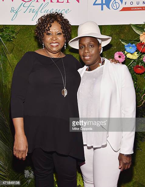 Radio personality Robin Quivers and singer/songwriter Andrea Martin attend the TJ Martell Foundation's Women of Influence Awards on May 1 2015 in New...