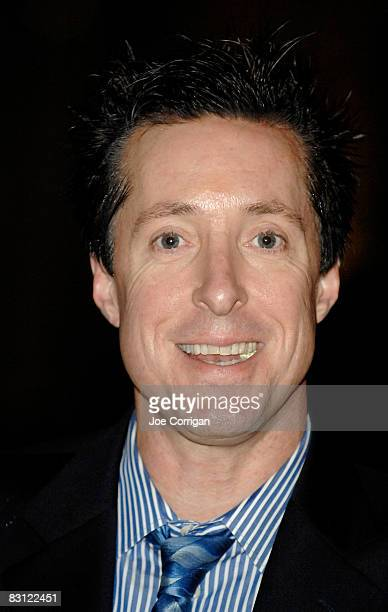 Radio personality Scott Ferrall attends the wedding of Howard Stern and Beth Ostrosky at Le Cirque on October 3 2008 in New York City