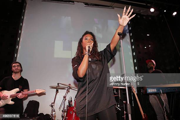 Radio personality Scottie Beam hosts the BET Music Matters showcase at SOB's on November 10 in New York City