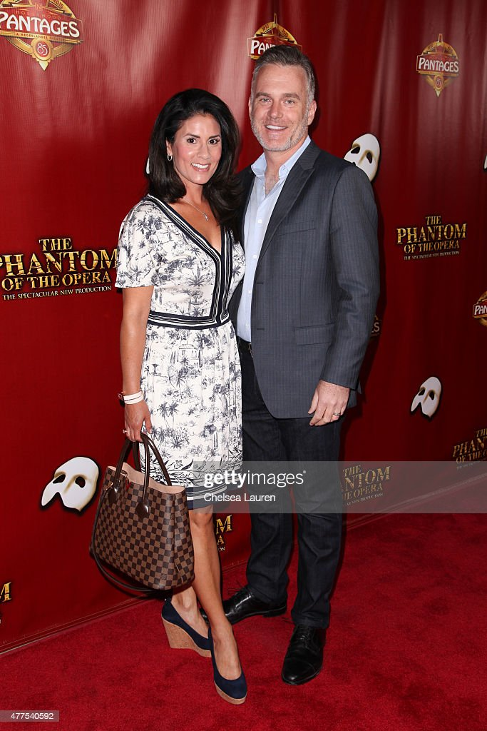 Radio Personality Sean Valentine Arrives At The Red Carpet Opening Night Of  U0027The Phantom Of