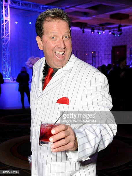 Radio personality Shawn Parr attends the official 2014 American Music Awards after party at the at Nokia Theatre LA Live on November 23 2014 in Los...