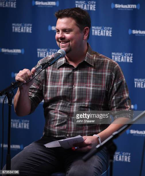 Radio personality Storme Warren appears on stage during an album premiere special for 'Love And War' On SiriusXM's The Highway Channel At SiriusXM's...